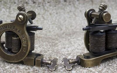 Stamped brass mini Jensen Perfection liner, for Primitive Art. Medium speed, solid  hit liner.