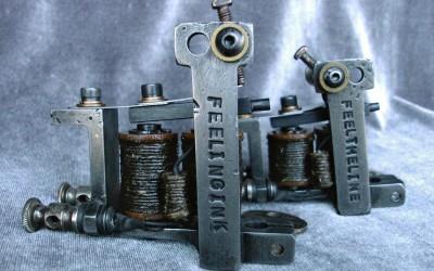 Set of stamped Dietzel liner / shader machines.