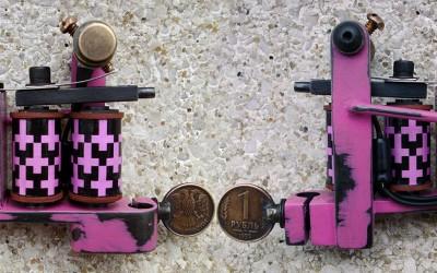 Lefty pink Bulldog powerliner. Super powerful & fast.