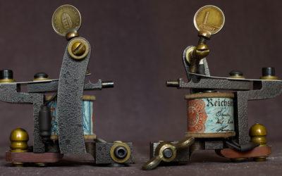 Machine gallery - Fabio Mendez Handmade Tattoo Machines