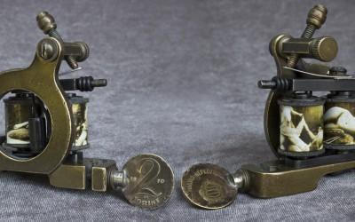 Brass mini Jensen Perfection liner with vintage porn coils.